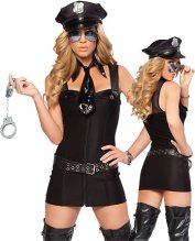 Above the Law Sexy Police Costume