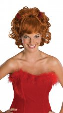 Red Wig With Horns