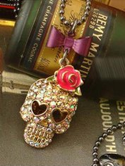 Punk Style Skull Necklace