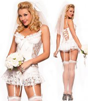 Naughty Nuptials Bridal Chemise