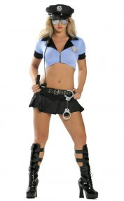 Naughty PD Police Costume